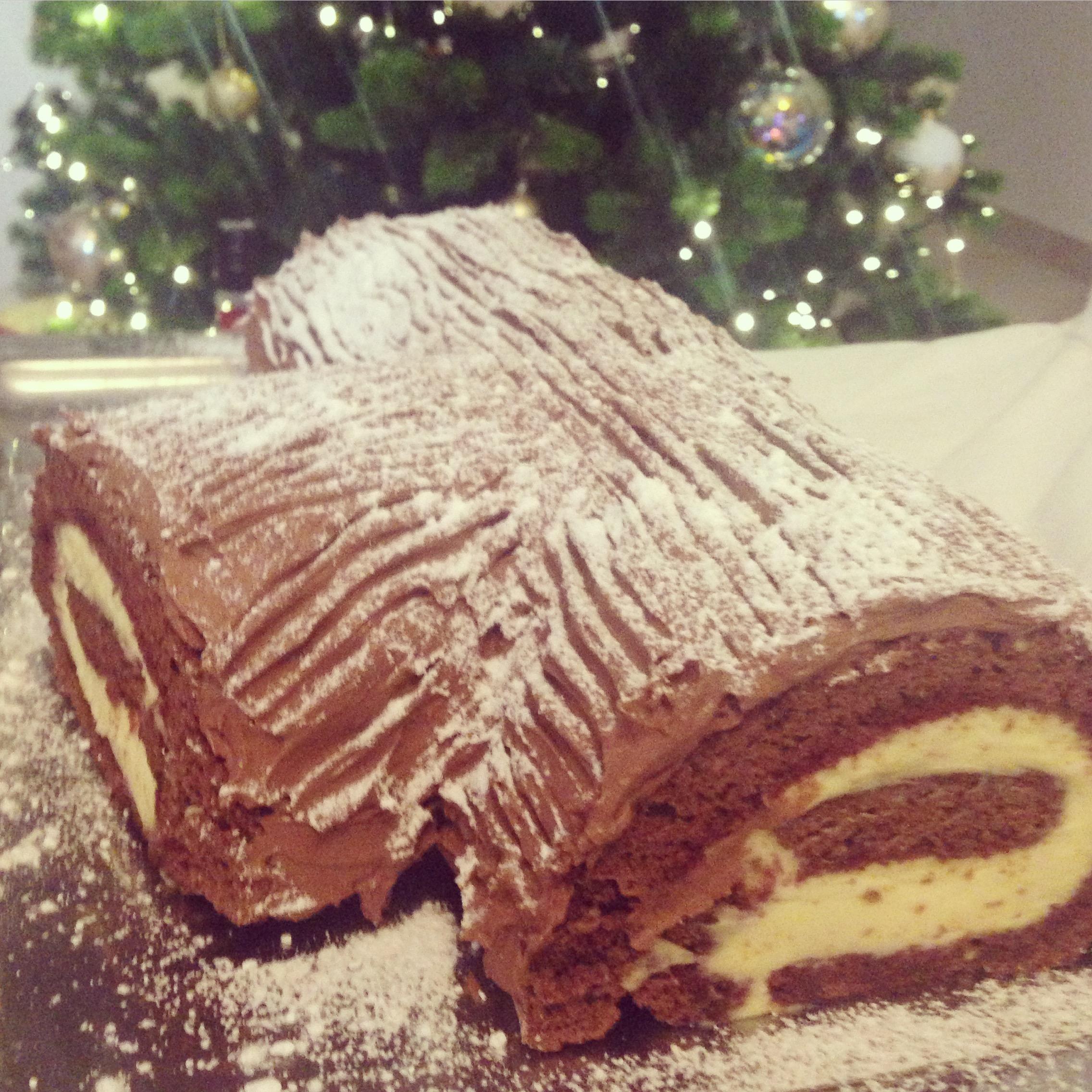 Tronchetto Di Natale Al Tiramisu.Tronchetto Di Natale Cinnamon Bliss